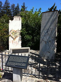 Berlin Wall  Mountain_View,_California