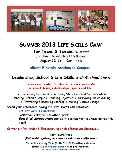 Summer AEA Flyer - Teens & Tweens copy