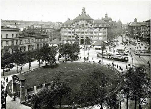 Berlin Alexanderplatz in 1920