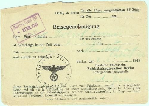 Dieter Kermas - Fluchtdokumente
