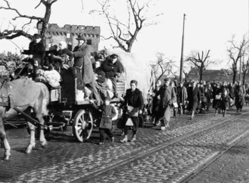 2. Weltkrieg - Flüchtlingstreck