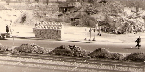 Ruine Hauptstr.87 abgeräumt