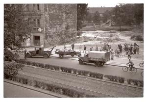 Berlin Unfall1a.1954