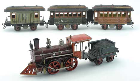 Old Märklin Train Set