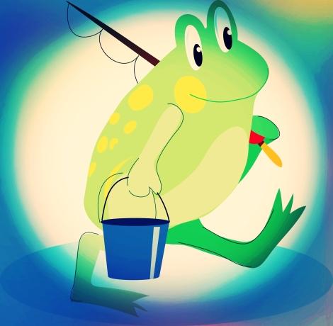 Frosch Fritz -