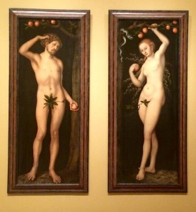 Adam & Eve by Lucas Cranach, The Elder ca.1500